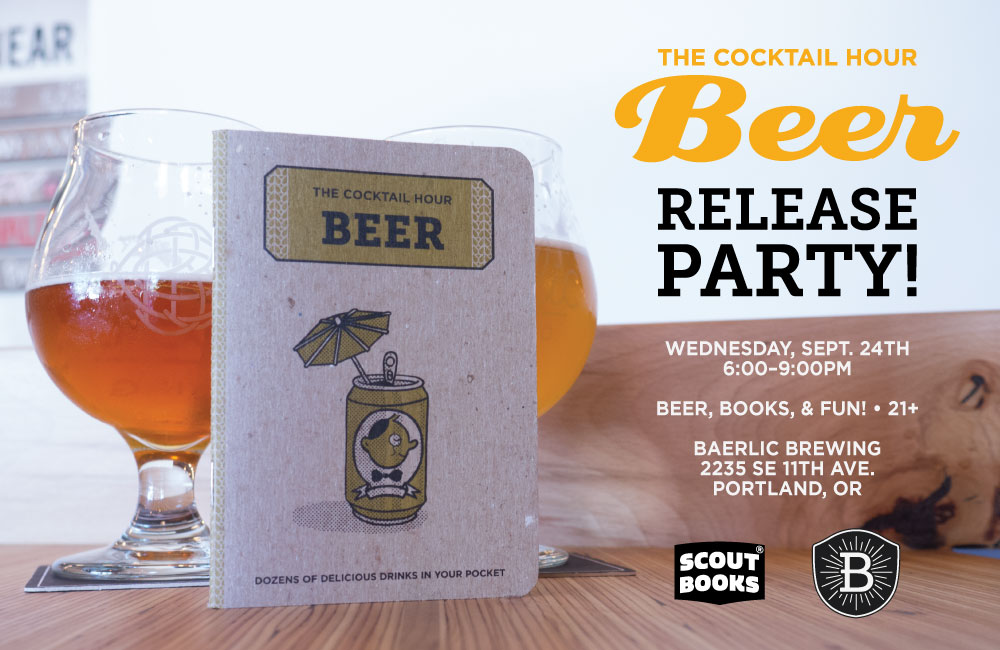 The Cocktail Hour: Beer Release Party 9/24