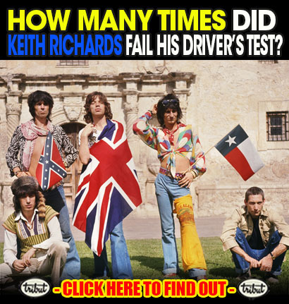 Tribut Apparel, 'When Music Really Matters'. How Many Times Did Keith Richards Fail His Driver's Test? Click here to find out.