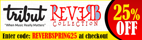 Tribut Apparel, 'When Music Really Matters' Reverb Collection. Shop The Reverb Collection and Save 25%! Enter code: REVERBSPRING25 at checkout.