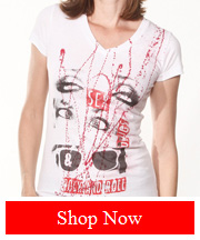 Tribut Apparel - SEX, DRUGS & ROCK 'N ROLL (V-NECK, WOMEN)