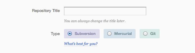 Select Mercurial