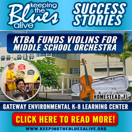 KTBA Funds Violins for Middle School Orchestra in Homestead. Read all about it here!