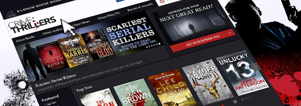 Crime & Thrillers Website
