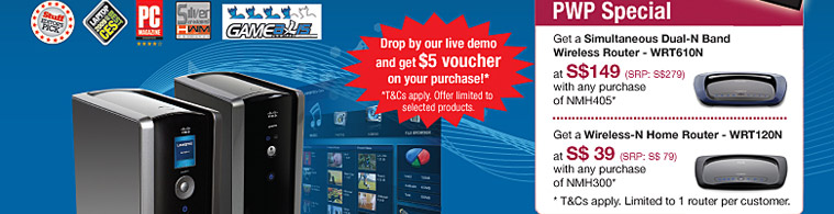 Drop by our live demo and get $5 voucher on your purchase!*