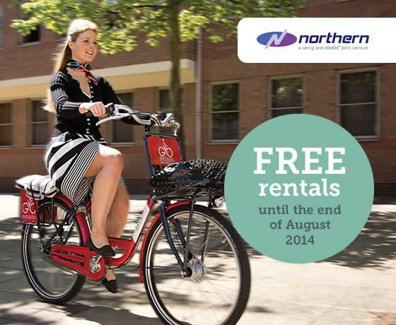 Free rentals until the end of August 2014