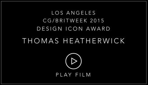 Christopher Guy Britweek 2015 Design Icon Award Thomas Heatherwick